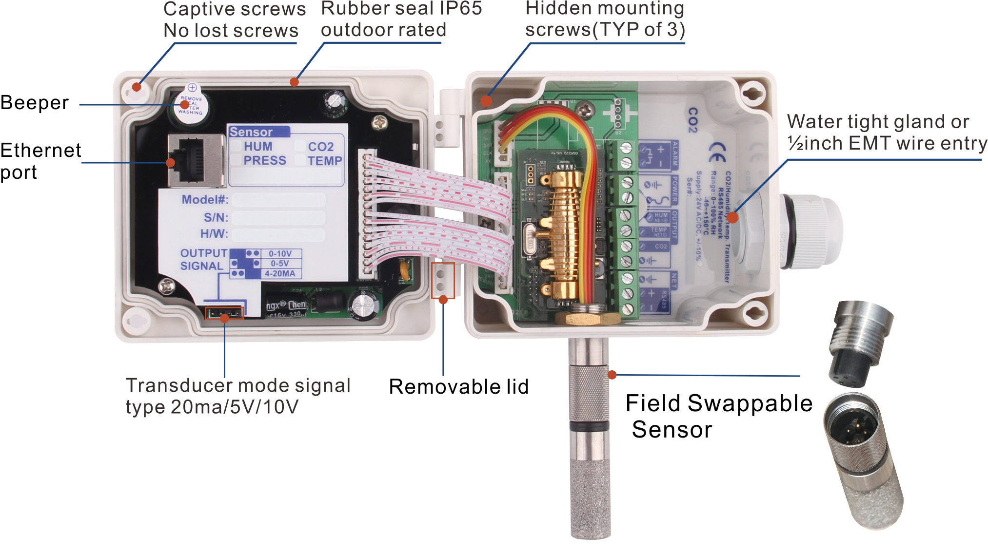 co2 sensor  wiring diagram: