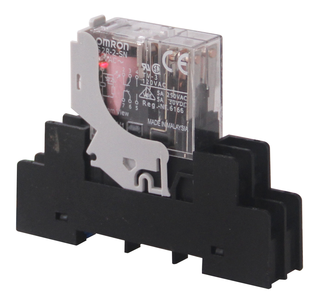 Omron G2r Relay Bravo Controls Dpdt Latching 12vdc