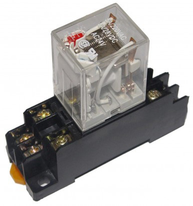 mechanical relay with led and base bravo controls. Black Bedroom Furniture Sets. Home Design Ideas