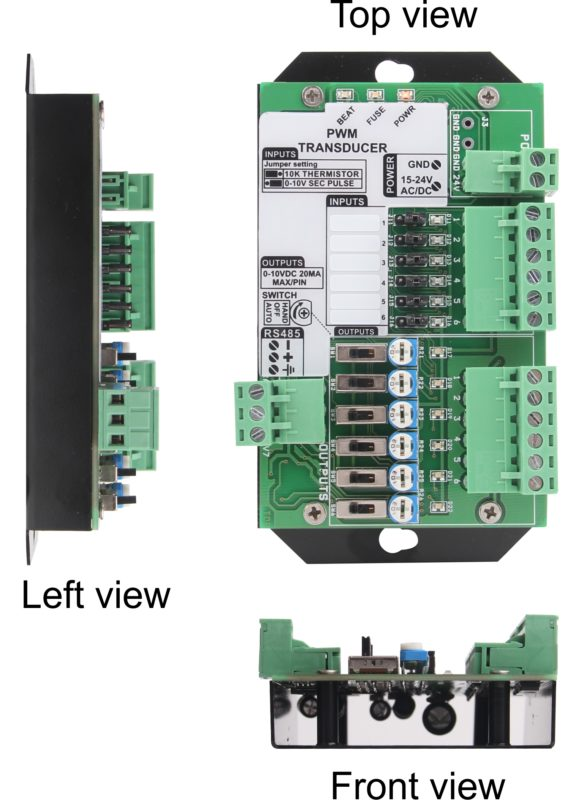 PWM Input to Voltage Output Transducer