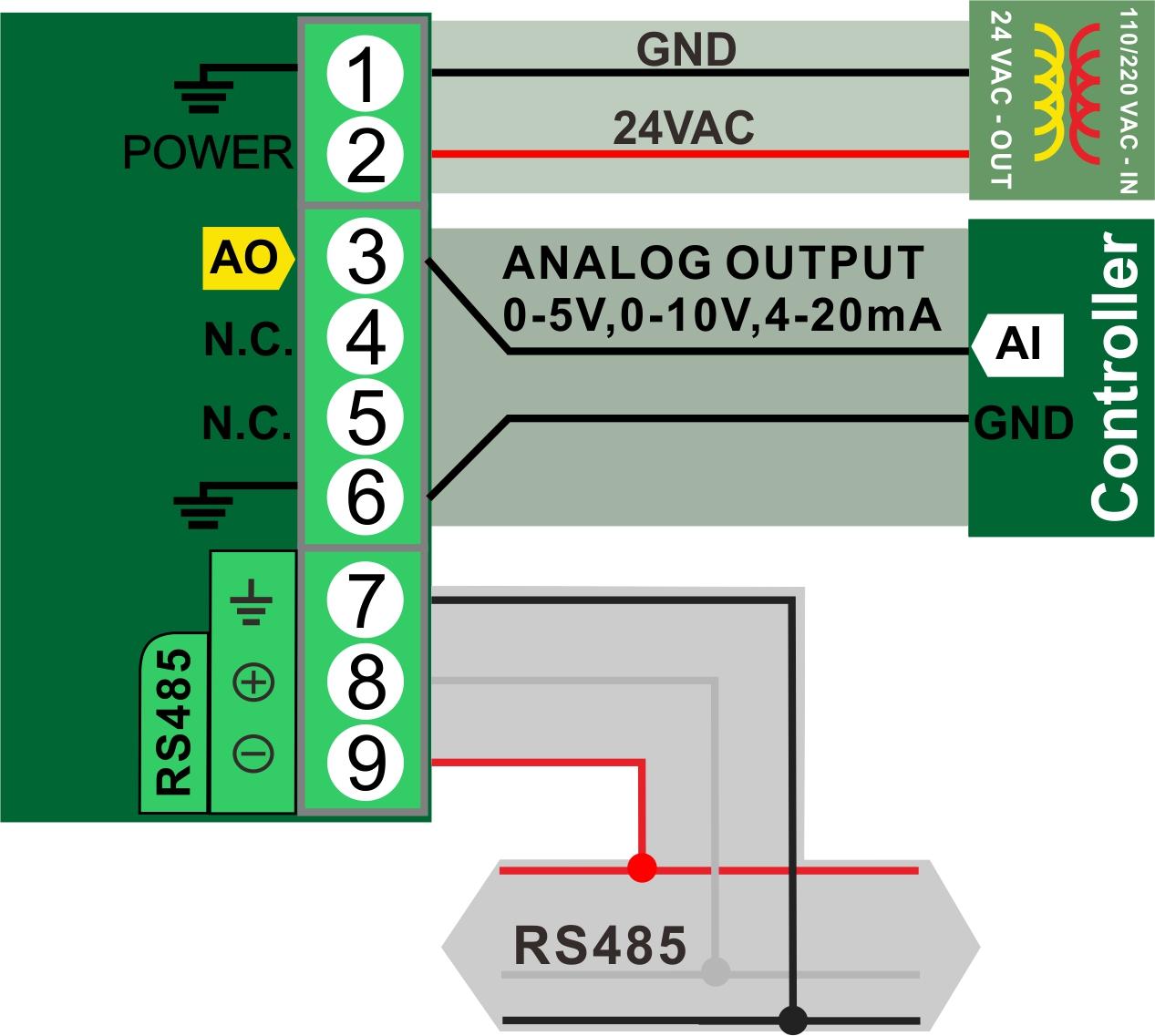 Pressure Wiring 2 pressure sensor bravo controls 4-20ma pressure transducer wiring diagram at creativeand.co