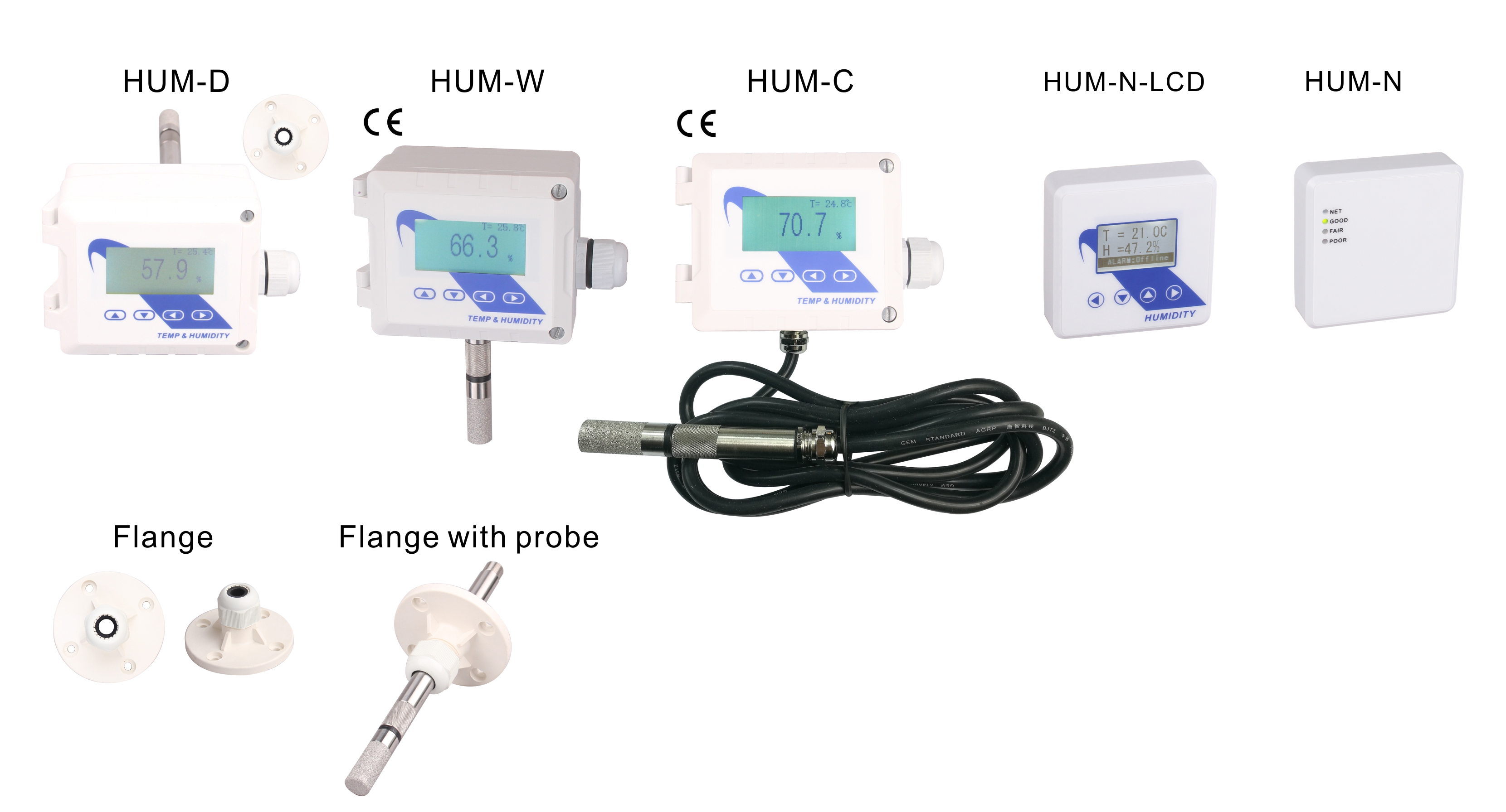 Humidity and Temp Transmitters